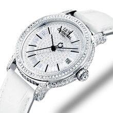 Switzerland Watches Carnival Luxury Brand Full Diamond Watch Women Japan MIYOTA Automatic Mechanical Sapphire Clock C86905-1