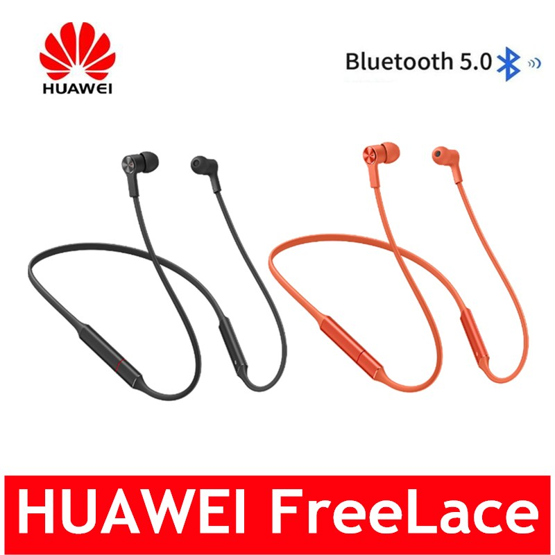 HUAWEI FreeLace Bluetooth 5.0 écouteur sans fil IP55 interrupteur magnétique étanche longue durée de Service casque de sport charge rapide