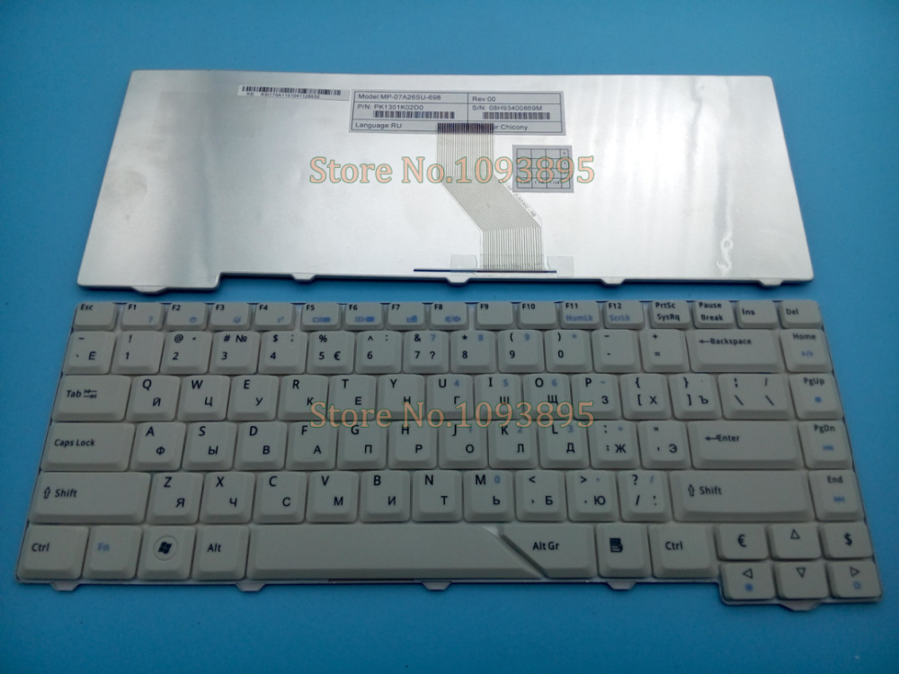 New Russian Keyboard For Acer Aspire 4520 4710 4720 4920