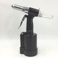 SAT6602 Industrial Air Pneumática Rivet Gun Kit Set 2.4-4.8mm Air Rebitador Rebitador Do Ar Arma