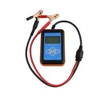 12 В цифровой автомобиля Авто Батарея тестер многоязычные Поддержка Батарея анализатор качества ручной инструмент детектор высокое качест