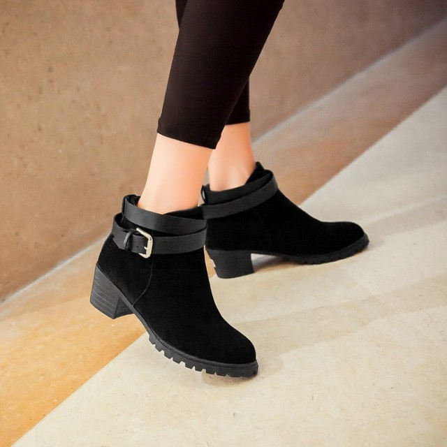 ce087652226 winter safety long thigh high women woman femininas ankle boots botas masculina  zapatos botines mujer chaussure femme shoes 8-6