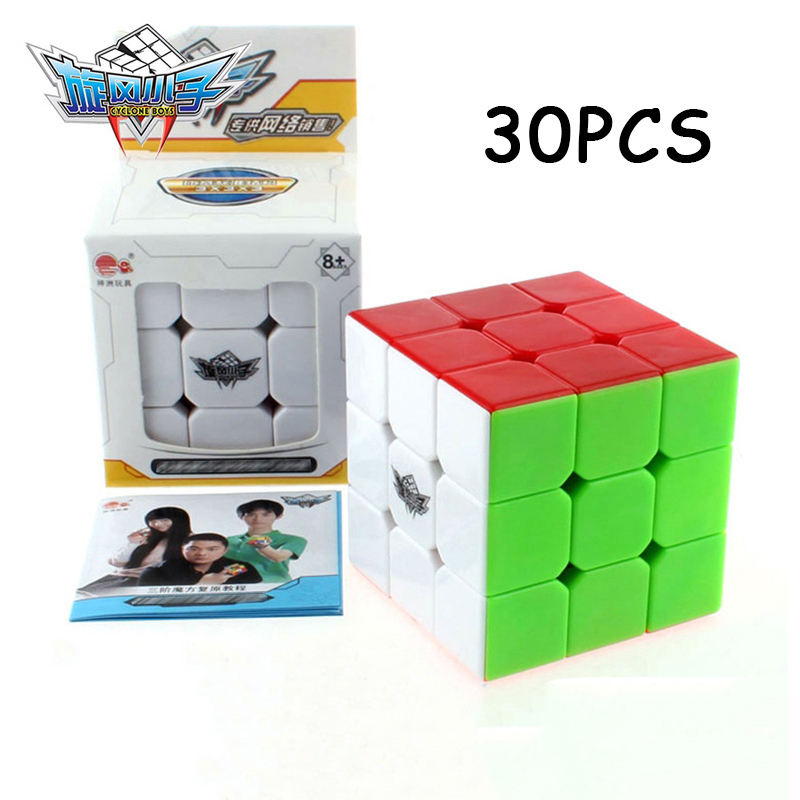 Puzzles & Games Magic Cubes Nice 30pcs Yj Yongjun Professional Magic Cube Competition Speed Puzzle Cube Educational Toys For Children Gifts