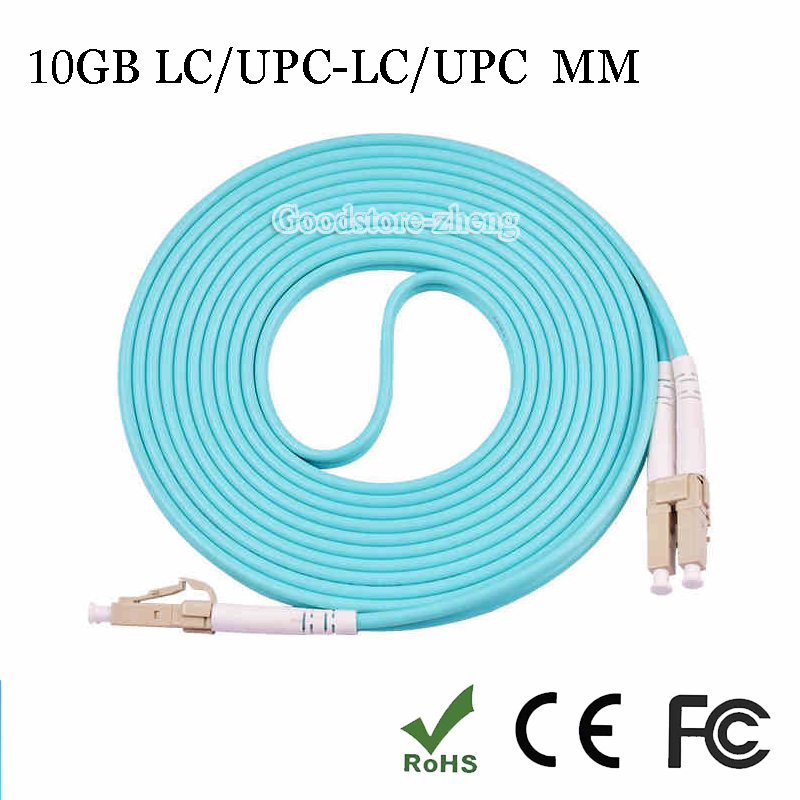 10GB LC-LC fiber optic patch cord jumper cable, MM, Multi-mode duplex 50/125, 3 Meters Home Electrical Wires hotpoint ariston bcb 33 a