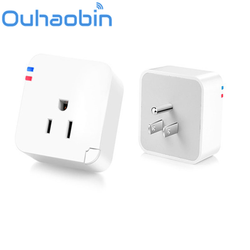 Ouhaobin Wireless US WiFi Phone Remote Repeater Smart AC Plug Power Switch Socket Gift Oct 18 Dropship