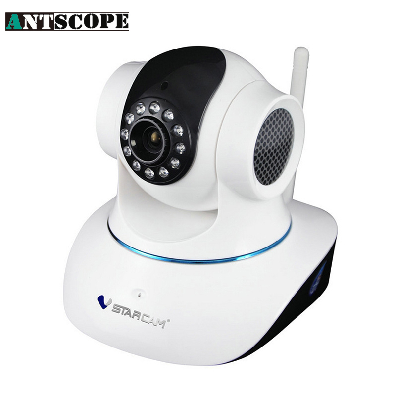 Antscope Vstarcam T6835 Micro tf SD Card Security IP Camera Wireless Wifi P2P Plug&Play IR Cut Night Vision Pan/Tilt 2015 vstarcam t6835 micro tf sd card security ip camera wireless wifi p2p plug