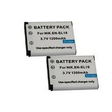 Аккумулятор для Nikon Coolpix S32 S33 S100 S2500 S2600 S2700 S2750 S3100 S3200 S3300 S3400 S3500 S4100 S4150 S4200