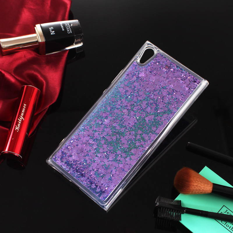 For Coque Sony Xperia XA1 Plus Case Silicone Soft TPU Clear Transparent Liquid Phone Cases For Sony XA1 Plus G3412 G3421 Cover