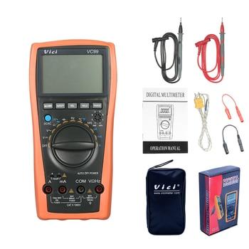 VC99 Multimetro Digital Multímetro Digital Auto Gama 1000 V AC DC Resistência Capacitância Diode Tester Voltímetro Digital Amperímetro