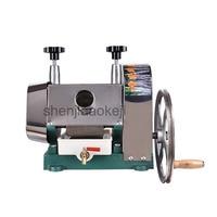 ステンレス鋼マニュアルサトウキビジュースマシンサトウキビジューサー、杖のジューススクイーザ、サトウキビジュース抽出機 50 キログラム/時間|ジューサー|   -