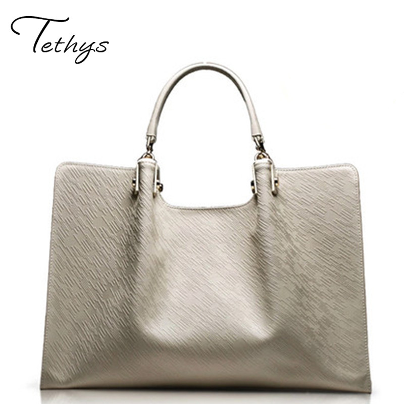 Famous Brand Ladies HandBag genuine Leather Women Bag Shoulder Bags2017Sac Luxury messenger bag Large capacity  Bag female totes