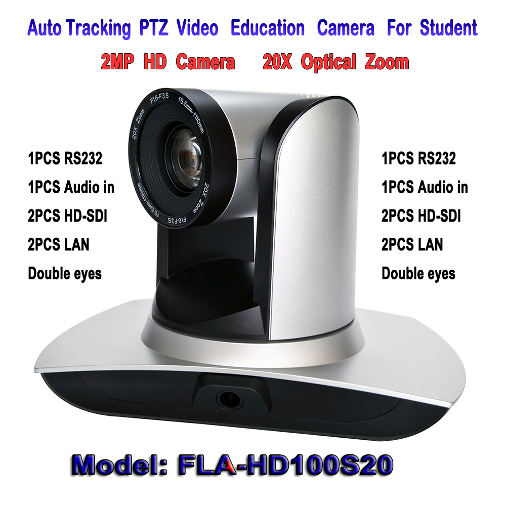 Education auto tracking font b Camera b font 20X Zoom 2MP 1080P 60fps PTZ Video Learning