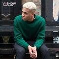 VIISHOW Свитера И Пуловеры Мужской вязаный свитер мужчины Повседневная Марка Вязаный Свитер Свитера Homme Masculino рождественский свитер