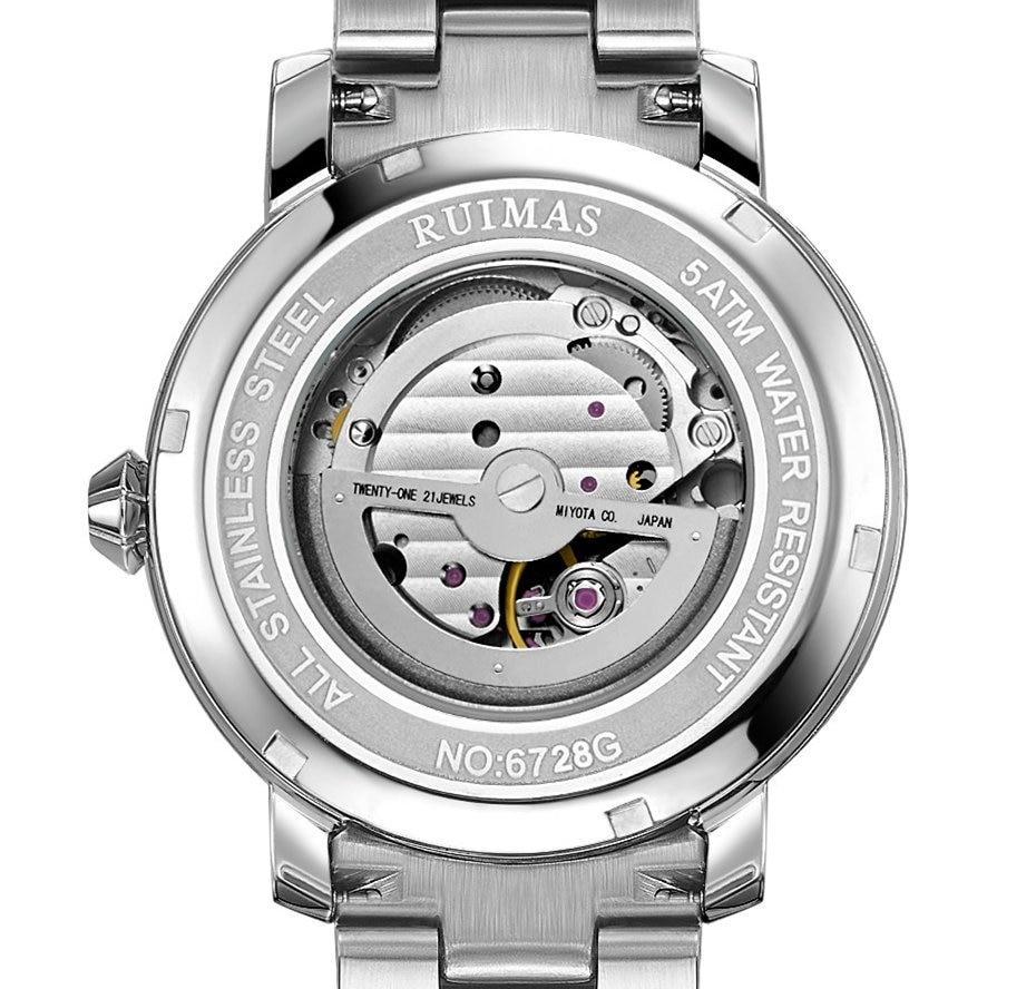 RUIMAS Luxury Quartz Men Watch Relogio Masculino Topp Märke Fashion - Herrklockor - Foto 6