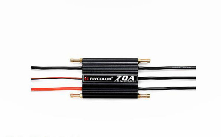 Yuenhoang 70A Brushless ESC 5.5V 5A 6S SBEC ESC for RC Speeding Boat Airplane Helicopter Speed Controller ypg 60a esc brushless speed controller 2 6s sbec for rc helicopter airplane