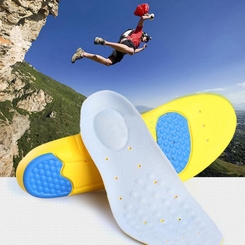 New Memory Foam Orthotics Arch Pain Relief Support Shoes Insoles Insert Pads Sports