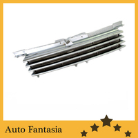 Chrome badgeless style front center grille for Volkswagen jetta / bora mk4 Free shipping