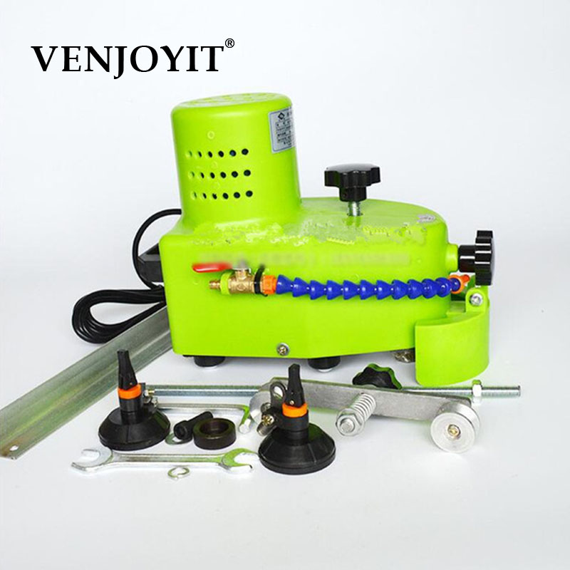 Small Portable Glass Grinding Machine Can Grinding Glass Straight Edge, Round Edge,hypotenuse Tile Edging Machine 110V/220V