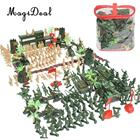 188 Pieces Army Men Playset 5cm Soldier Action Figures with Tanks Planes Flags&More Assorted Accessories Boys Kids Toys Gift