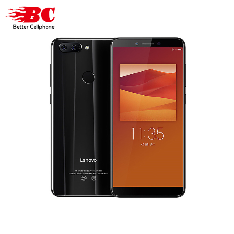 D'origine multi-langue version Lenovo K5 K350t 3 gb + 32 gb MTK6750 Octa core 5.7 pouce 2.5D verre double caméra 13.0MP + 5.0MP 3000 mah