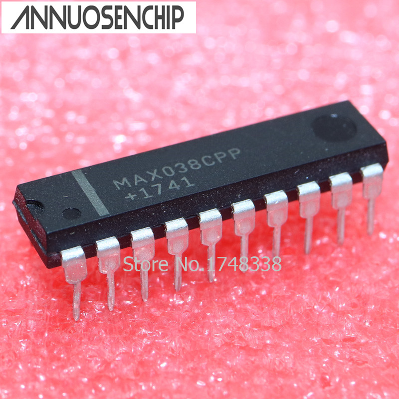 1PCS MAX038CPP DIP20 MAX038 DIP Evaluation Kit new and original free shipping 2pcs ad526jnz dip16 ad526jn dip ad526 new and original ic free shipping