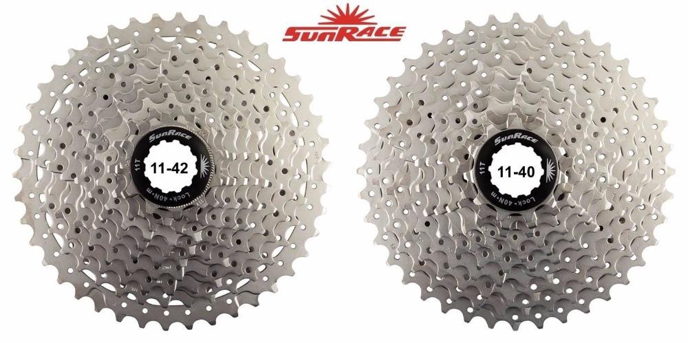 SunRace CSMS3 CSMX3 11-40T 11-42T 11-46T 10 Speed Wide Ratio bike bicycle mtb freewheel Cassette new arrival sunrace csms3 csmx3 11 40t 11 42t 10 speed 10s wide ratio mtb mountain bike freewheel cassette bicycle flywheel