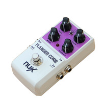 NUX FLANGER Core Shifter Modulation Stomp Effect Pedal Tone Lock Preset Function True Bypass guitar parts accessories