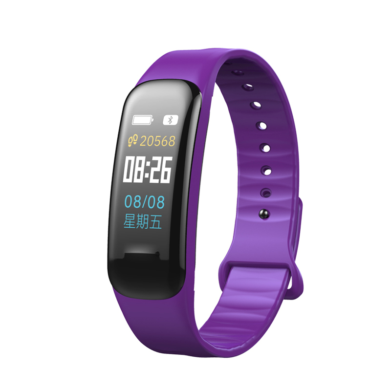 Image 5 - Imosi Smart bracelet C1s Color screen Waterproof wristband heart rate monitor Blood pressure measurement Fitness tracker band-in Smart Wristbands from Consumer Electronics