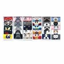 LETSBUY 5 pairs/lot women socks cotton cartoon funny invisible cute animal woman lovely fox owl sock slippers NO BOX