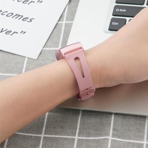 Image 5 - Ersatz Lederband Uhr Band Uhr Top Schicht Rindsleder Offen Band Mit Metall Schnalle Für Fitbit Gebühr 3