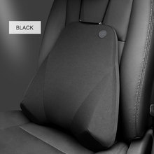 LOEN Car Seat Back Support Neck Pillow Cushion Seat Cover Headrest Waist Lumbar Pillow Nap Pads Car Care Memory Foam For All Car