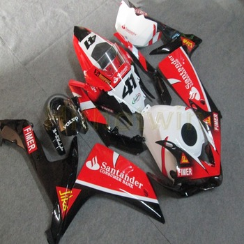 Custom-made YZF R1 07-08 motorcycle body kit for YZF-R1 2007-2008 year ABS Fairing+Screws+Injection mold red black M2