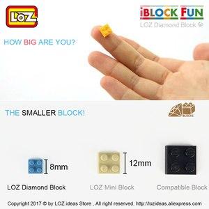 Image 5 - Loz Diamant Blokken Plastic Bouwstenen Kids Kinderen Gift Educatief Speelgoed Cartoon Model Educatief Diy Building Figuur 9505