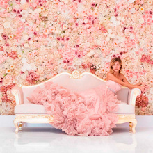 60x40cm Artificial Wedding Background Flower Wall Home Shopping Mall Window Display Photography Decoration