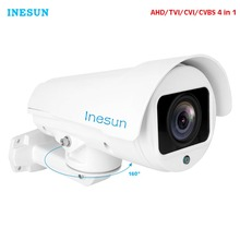 Inesun 1080P 2MP Outdoor Security Camera 4X/10X Optical Zoom 4-in-1 HD CVI/TVI/AHD/ CVBS Waterproof IR Night Vision AHD Cameras