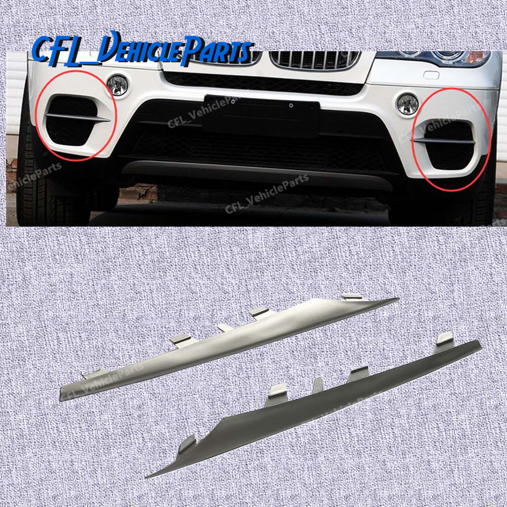 Front Right side Bumper Lateral Grill Trim Molding for BMW X5 E70 51117222848