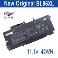HSW nuevas baterías para portátil HSTNN-DB5D, HSTNN-W02C, BL06XL, 722236-2C1, elitebook folio 1040 G1, L7Z22PA, bateria