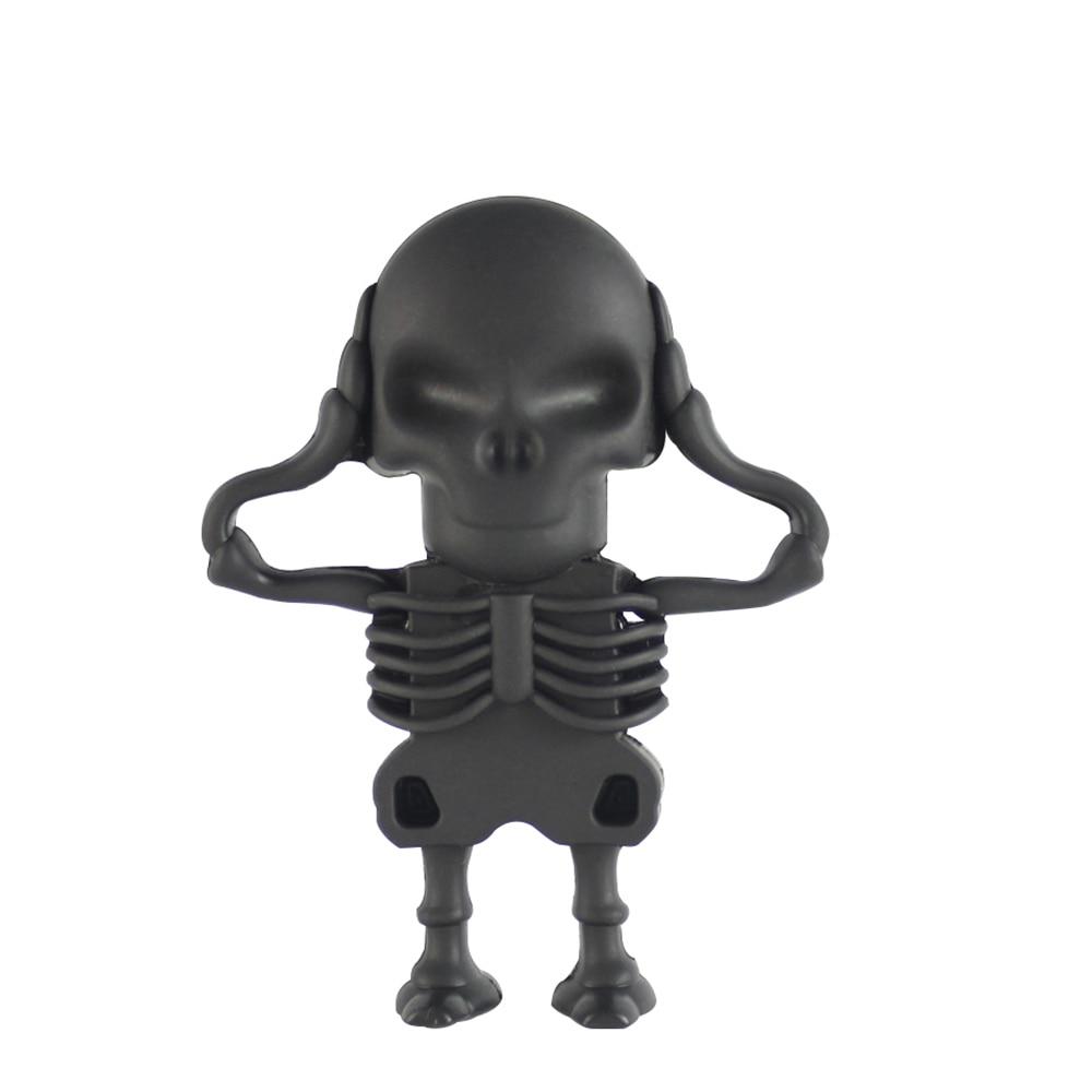 Cute Cartoon Skeleton Pen Drive USB Flash Drive 64GB/8GB/16GB/32/GB/4GB Pendrive Memory USB Stick Usb Flash Card Gift For Boy Ho