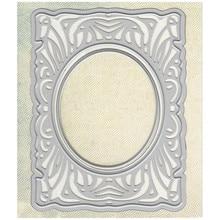 YaMinSanNiO Dies Cutting Frame Metal Die Stencil for DIY Scrapbooking Photo Album Embossing Decorative Craft