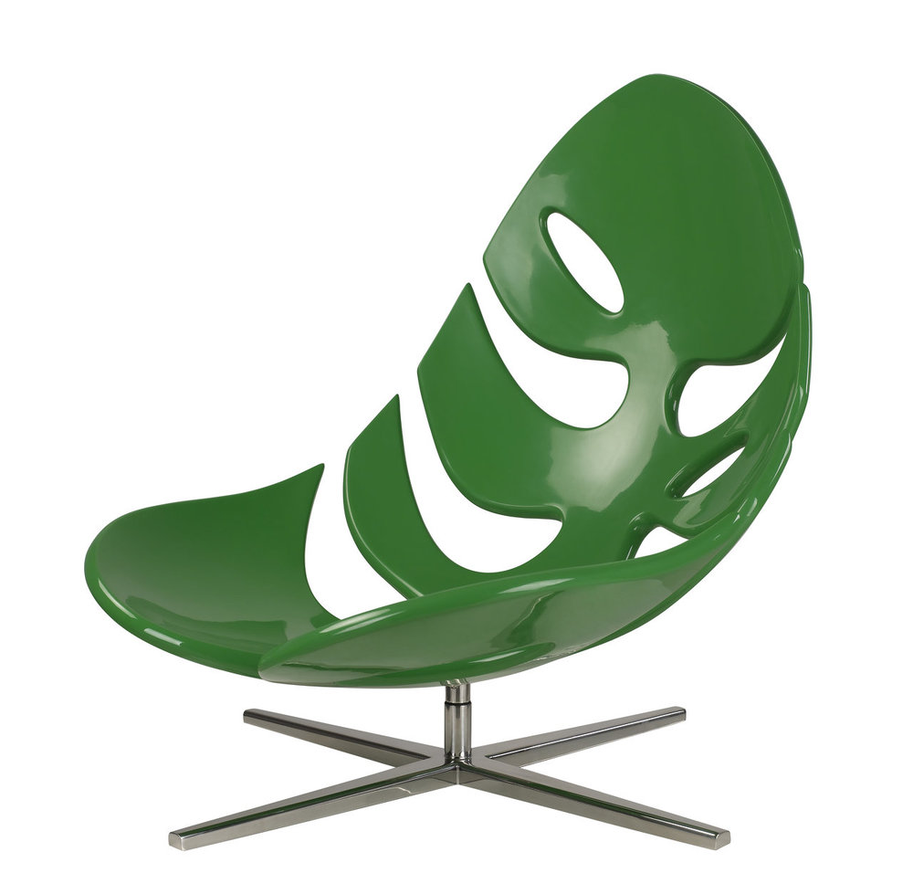 Monstera Lounge Chair / fiberglass Monstera leaf chairs / Philip Ahlstrom-in Dining Chairs from Furniture on Aliexpress.com | Alibaba Group  sc 1 st  AliExpress.com : leaf chairs - Cheerinfomania.Com