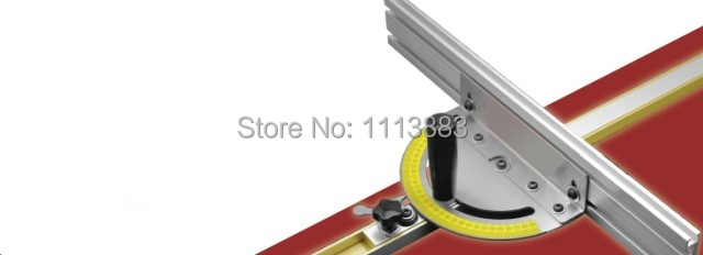 Купить с кэшбэком Miter Gauge for Bandsaw/Table Saw/Router Table (No T-track included in the set)
