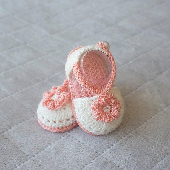 2797a50095f Summer Crochet Baby sandals