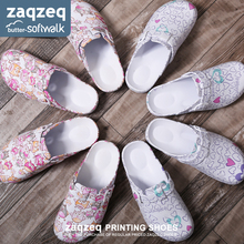 Medical Shoes  2019 Surgical room Slippers Doctor Surgical shoes Nurse shoes women Printed  slippers Experimental non-slip shoes цена 2017