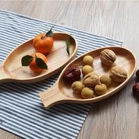 1 unid Hadle Tazón Grande De Madera Sólida hecha a mano de contenedores de alimentos saludables tradicionales platos de la cena de la vendimia bassie estilo Japonés 3