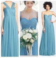 JC & STAR Verscheidenheid dragen Convertible Jurken lange paarse bruidsmeisjekleding onder $50 Multicolor Trouwjurk Prom party jurk
