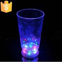 7 Estilo de Europa de Color led Publicidad Regalo taza de agua 201-300 ml Taza de Agua Tazas de Café LLEVÓ Glowing201-300ml envío envío libre 1 unid