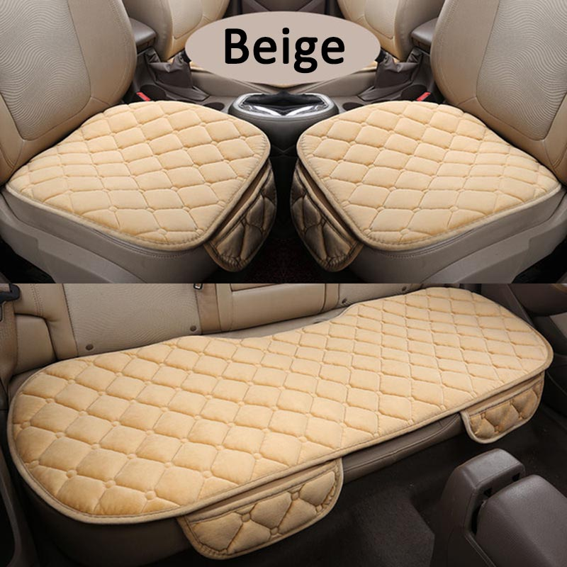 Winter Plush Car Seat Cover Cushion For Honda Accord Civic CRV Crosstour Fit City HRV Vezel Series Car pad Free Shipping