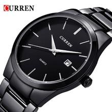2018 Мода CURREN часы спортивные Сталь часы Одежда высшего качества военные Для мужчин мужской роскошный подарок наручные кварцевые часы relogio masculino