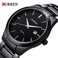 2018 moda CURREN zegarki Sport stal zegar najwyższej jakości wojskowy męska mężczyzna luksusowy prezent Wrist Quart zegarki relogio masculino