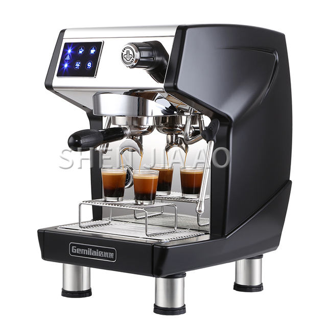 220V professional Commercial espresso coffee machine italian coffee makers 1.7L 15Bar coffee making machine for shops CRM3200B